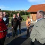 Gespräch mit Mitglieder der AWG Hagenmühle in Kürnberg