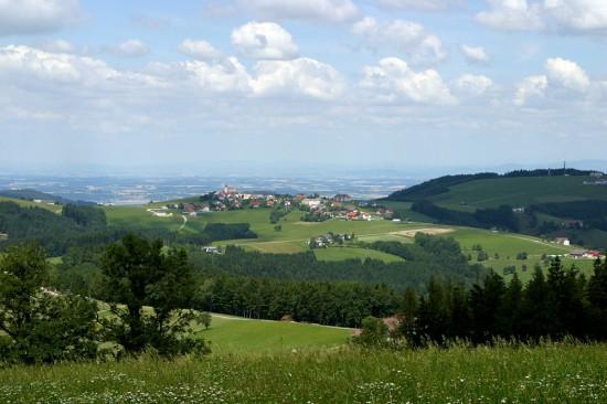 Blick auf Kürnberg